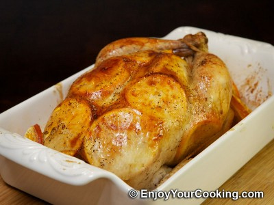 Whole Chicken Roast with Oranges Recipe: Step 12