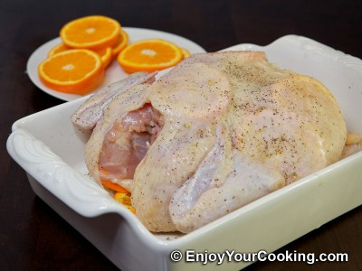 Whole Chicken Roast with Oranges Recipe: Step 6