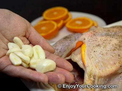 Whole Chicken Roast with Oranges Recipe: Step 7