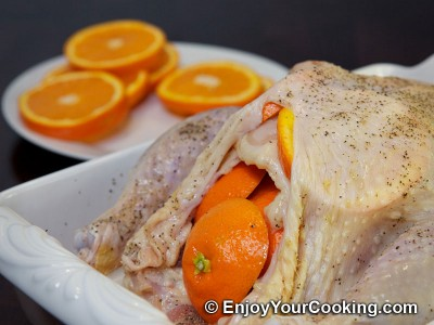 Whole Chicken Roast with Oranges Recipe: Step 9