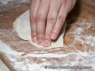 Fried Lamb Dumplings (Chebureki) Recipe: Step 11e