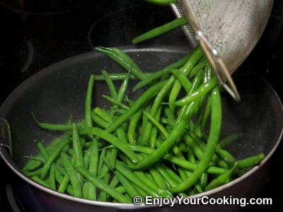 String Beans Fried with Eggs Recipe: Step 7