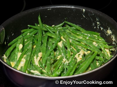 String Beans Fried with Eggs Recipe: Step 9