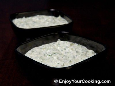 Tzatziki Sauce is Ready!