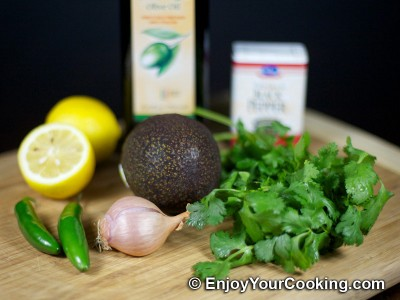Avocado Salad Dressing Recipe: Step 1