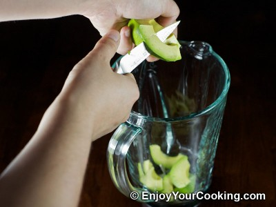 Avocado Salad Dressing Recipe: Step 2
