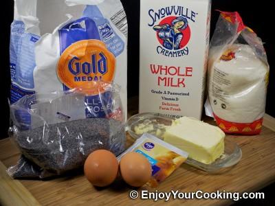 Sweet Braided Bread Recipe: Step 1