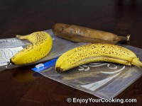 Clearly Fresh Bags vs Ziploc Review: Bananas Result