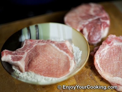 Fried Pork Chops Recipe: Step 3