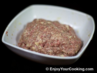 Minced Cutlets Stuffed with Mushrooms Recipe: Step 11