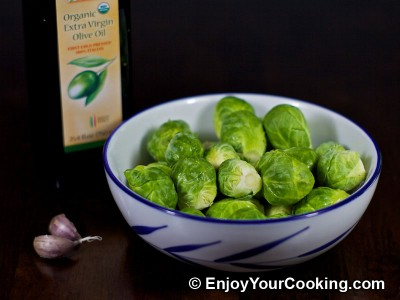 Roast Brussels Sprouts Recipe: Step 1