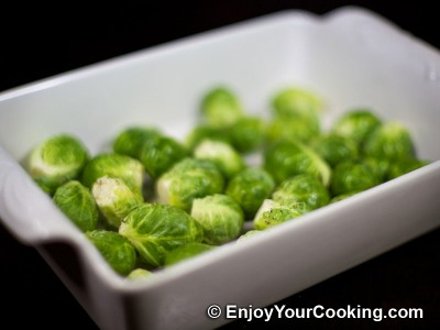 Roast Brussels Sprouts Recipe: Step 2