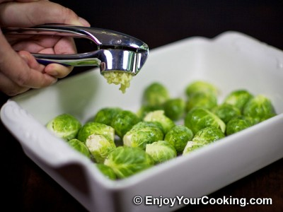 Roast Brussels Sprouts Recipe: Step 3