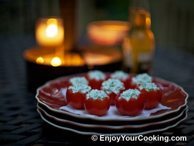 Tomatoes Stuffed with Fresh Cheese Recipe: Step 10