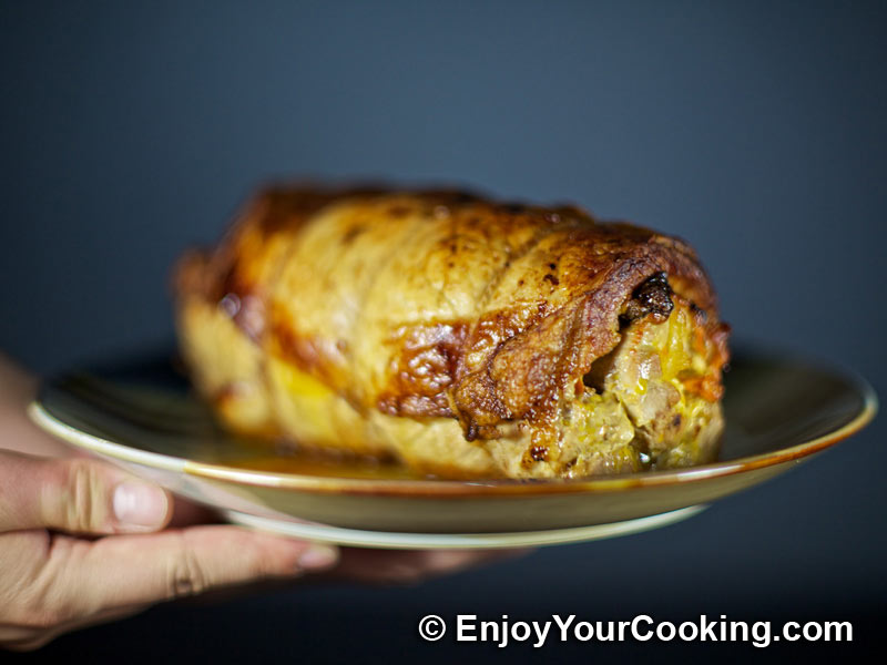 Pork Loin Roll with Prunes and Carrots   Recipe   My Homemade Food ...