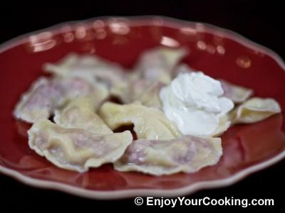 Ukrainian Sour Cherry Dumplings (Varenyky z Vyshniamy) Recipe: Step 13