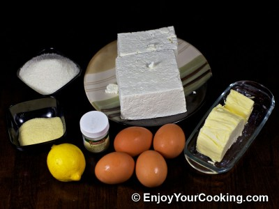 West Ukrainian Cheese Cake (Syrnyk) Recipe: Step 1