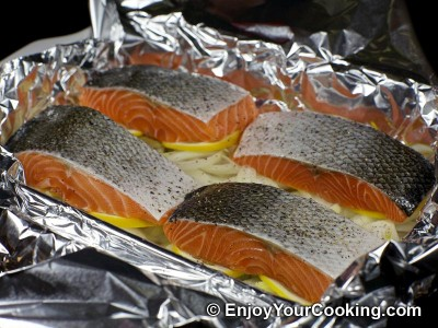 Salmon Roast in Foil Recipe: Step 5