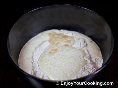 How to Make Unsweetened Yeast Dough: Step 6