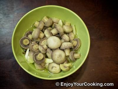 Homemade Pickled Mushrooms