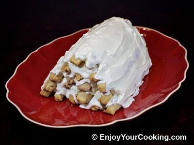 "Cake ""Firewood on Snow"" Recipe: Step 15"