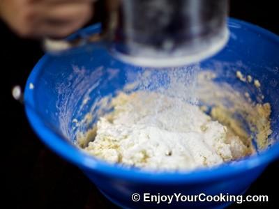 "Cake ""Firewood on Snow"" Recipe: Step 6"
