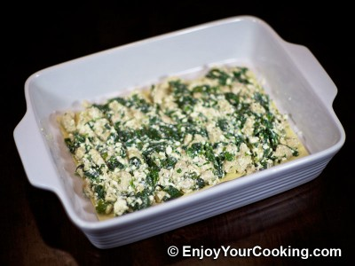 Chicken Lasagna with Spinach and Fresh Cheese Recipe: Step 15