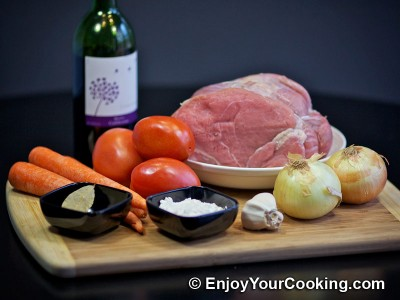 Veal Roast with Pureed Vegetable Sauce Recipe: Step 1