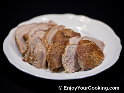 Veal Roast with Pureed Vegetable Sauce Recipe: Step 14