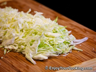 Cabbage and Carrots Salad Recipe: Step 2