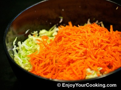 Cabbage and Carrots Salad Recipe: Step 4