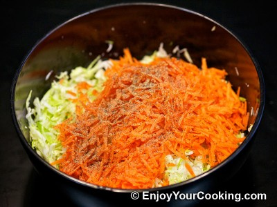 Cabbage and Carrots Salad Recipe: Step 5
