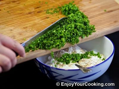 Sour Cream and Garlic Dip Recipe: Step 3