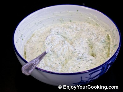 Sour Cream and Garlic Dip Recipe: Step 6