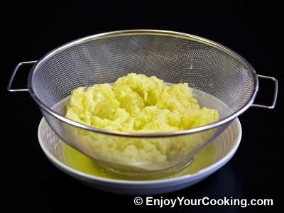 Zucchini Pancakes with Sheep Cheese Recipe: Step 5
