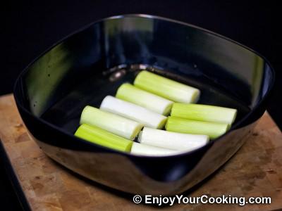 Chicken Stuffed Leeks Recipe: Step 3
