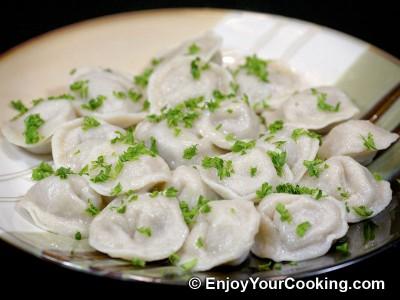 Russian Meat Dumplings (Pelmeni)