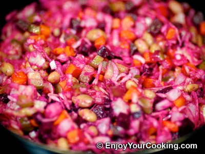 Russian Vinaigrette Salad (Salad Vinegret) Recipe: Step 10