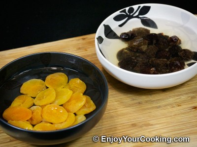 Curry Chicken with Prunes and Dried Apricots Recipe: Step 2