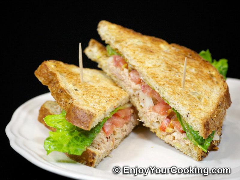 Tuna Salad Sandwich   Recipe   My Homemade Food Recipes ...