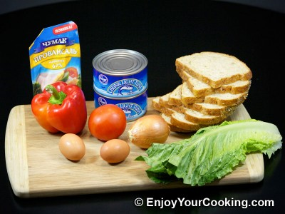 Tuna Salad Sandwiches Recipe: Step 1
