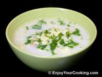 Cauliflower and Chicken Soup