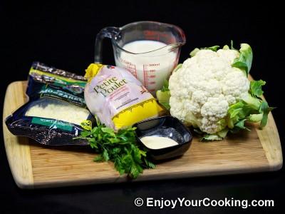 Cauliflower and Chicken Soup Recipe: Step 1