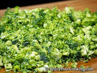Fresh Broccoli Salad with Raisins and Sunflower Seeds Recipe: Step 3