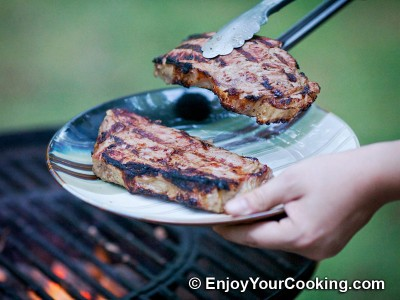Steaks Marinated in Onion Juice Recipe: Step 12