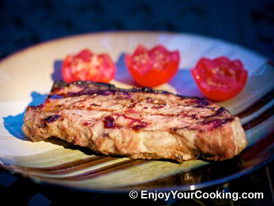 Steaks Marinated in Onion Juice Recipe: Step 13