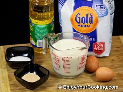 Yeast Pancakes (Russian Oladi) Recipe: Step 1