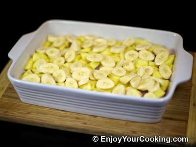 Chicken Meat Roasted with Pineapple and Bananas Recipe: Step 4