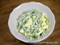 Green Beans and Eggs Salad