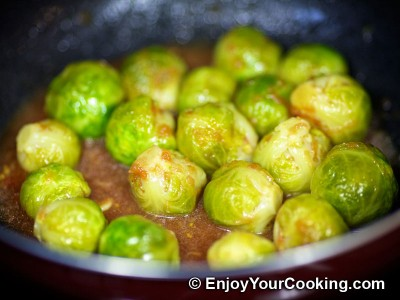 Brussels Sprouts in Tomato and Soy Sauce Recipe: Step 11